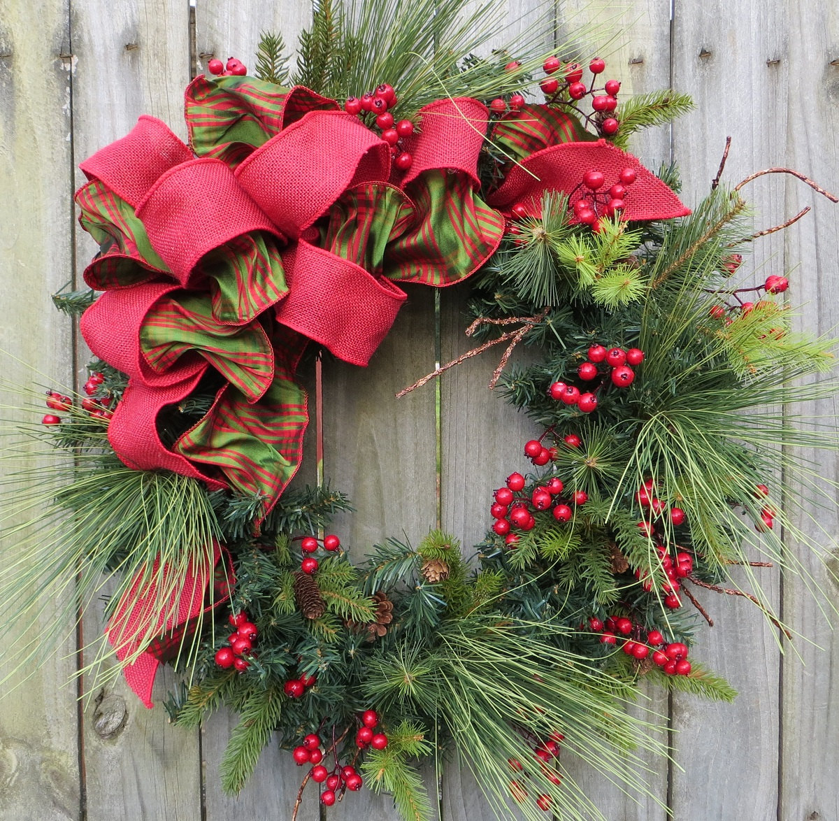 decorations christmas wreaths - Cheap Large Christmas Decorations