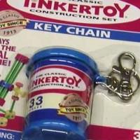 Tinker Toy Keychain